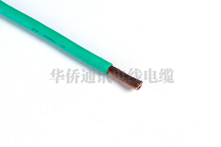 Copper core PVC insulated soft cable