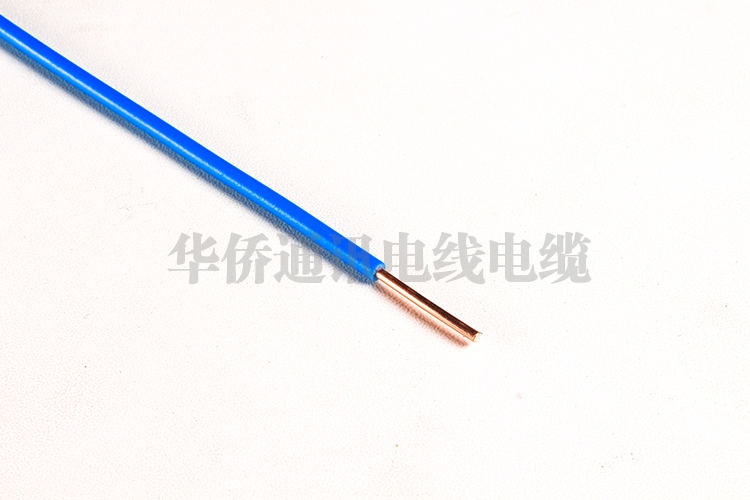 Single core solid conductor without sheath cable for internal wiring with a conductor temperature of 70 C